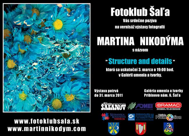 Pozvánka Martin Nikodým