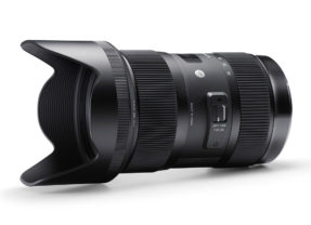 Šialená svetelnosť zoom objektívu – Sigma 18-35 mm F1,8 DC HSM