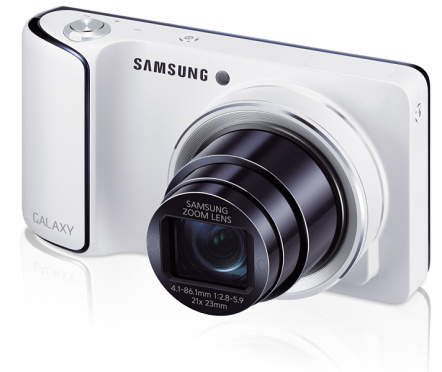 Samsung Galaxy Camera vs. Nikon Coolpix S800c
