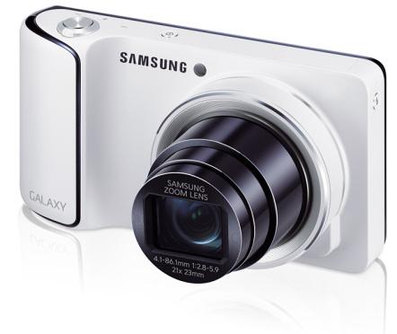 Samsung Galaxy Camera vs. Nikon Coolpix S800c